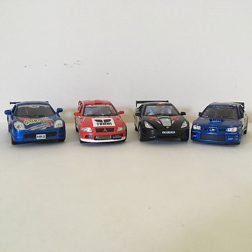Die Cast Sports Cars