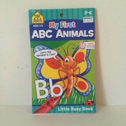 School Zone My First ABC Animals