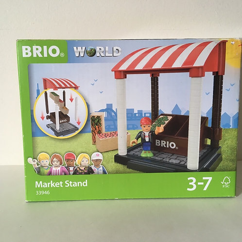 Brio World Market Stand with Figure- #33946