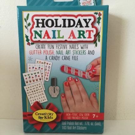 Creativity for Kids Holiday Nail Art