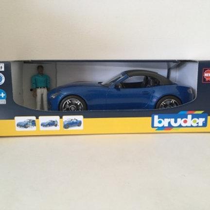Bruder Blue Roadster