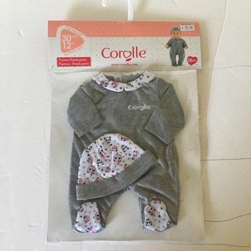 Corolle Baby Doll Panda Party Pajamas #110040