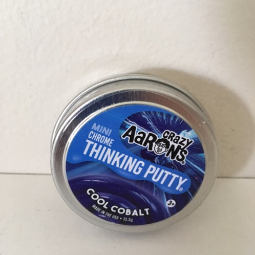Crazy Aaron's Cool Cobalt Thinking Putty