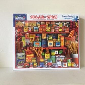 White Mountain Sugar & Spice Puzzle