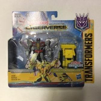 Hasbro Transformer Cyberverse - Starscream Demolition Destroyer