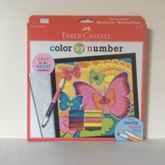 Faber Castell Color by Number - Bloomin Butterflies