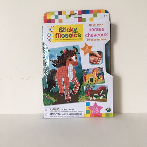 ORB Sticky Mosaics - Horses Travel Pack