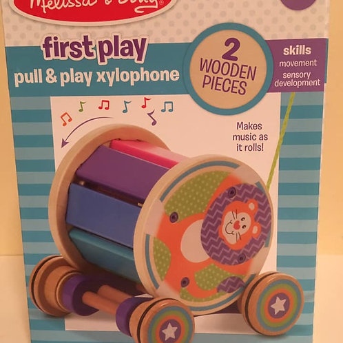 Melissa & Doug First Play Pull & Play xylophone