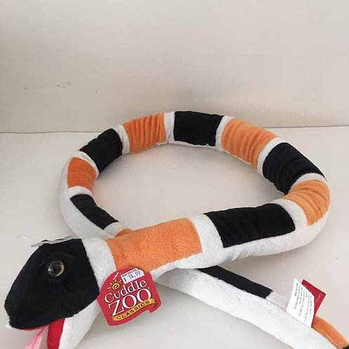 Cuddle Zoo Plush Snake