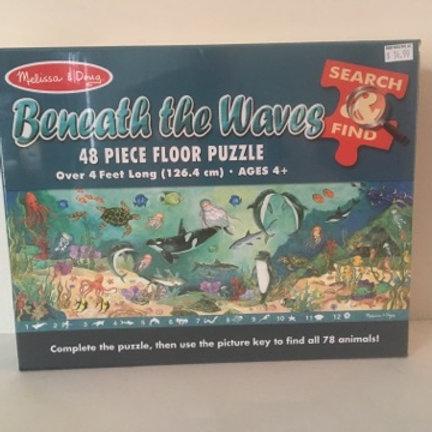 Melissa & Doug Beneath the Waves Floor Puzzle