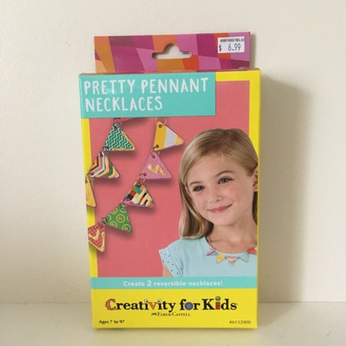 Creativity For Kids - Pretty Pennant Necklaces