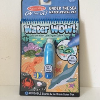 Melissa & Doug On the Go Water Wow -  Under the Sea