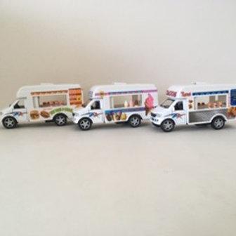 Die Cast Food Trucks