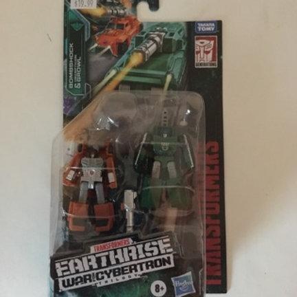 Earthrise BombShock & Decepticon Growl Transformers
