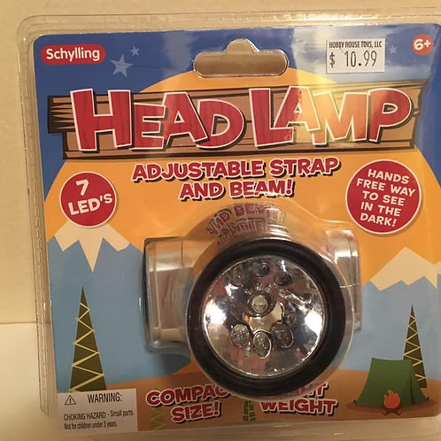 Schylling HEADLAMP Adjustable strap and beam!