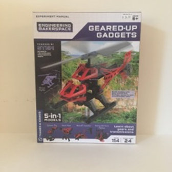 Thames & Kosmos Geared Up Gadgets 5 in 1 Models
