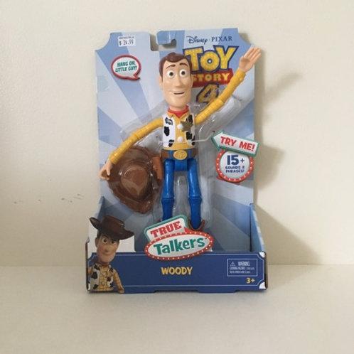 Disney Toy Story 4 Talking Woody Figure