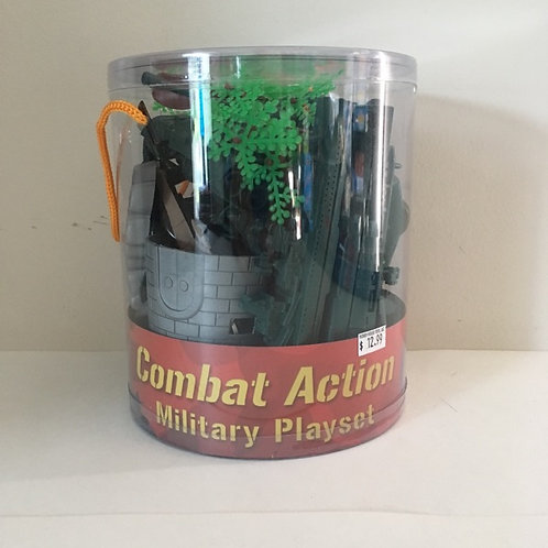 Combat Action Military Playset