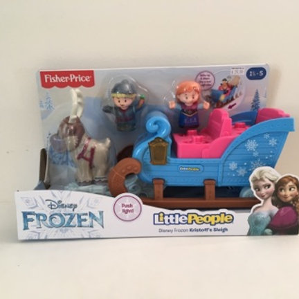 Fisher Price Disney Frozen Little People Kristoff's Sleigh