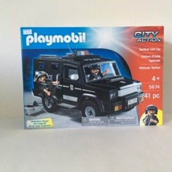 Playmobil City Action Tactical Unit Car
