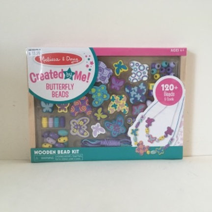 Melissa & Doug Created by Me Butterfly Beads