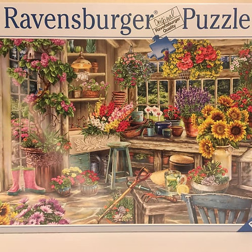Ravensburger 2000 pc Puzzle, FLOWER HOUSE