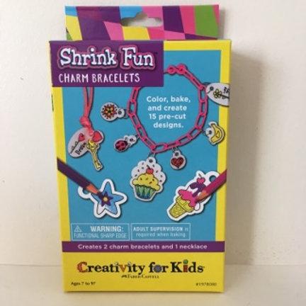 Creativity for Kids Shrink Fun Charm Bracelets