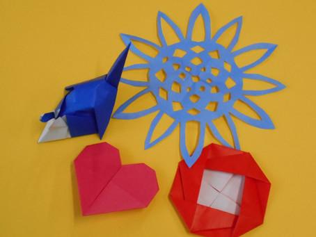 ころーれ体験実習 折り紙作品紹介