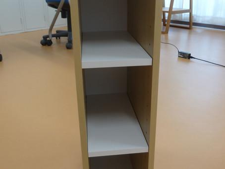 棚を作りました!