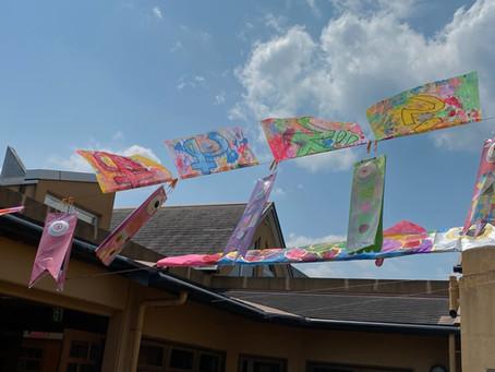 社会就労センターあおぞら 美術・造形活動の取り組みの作品を公開しています!