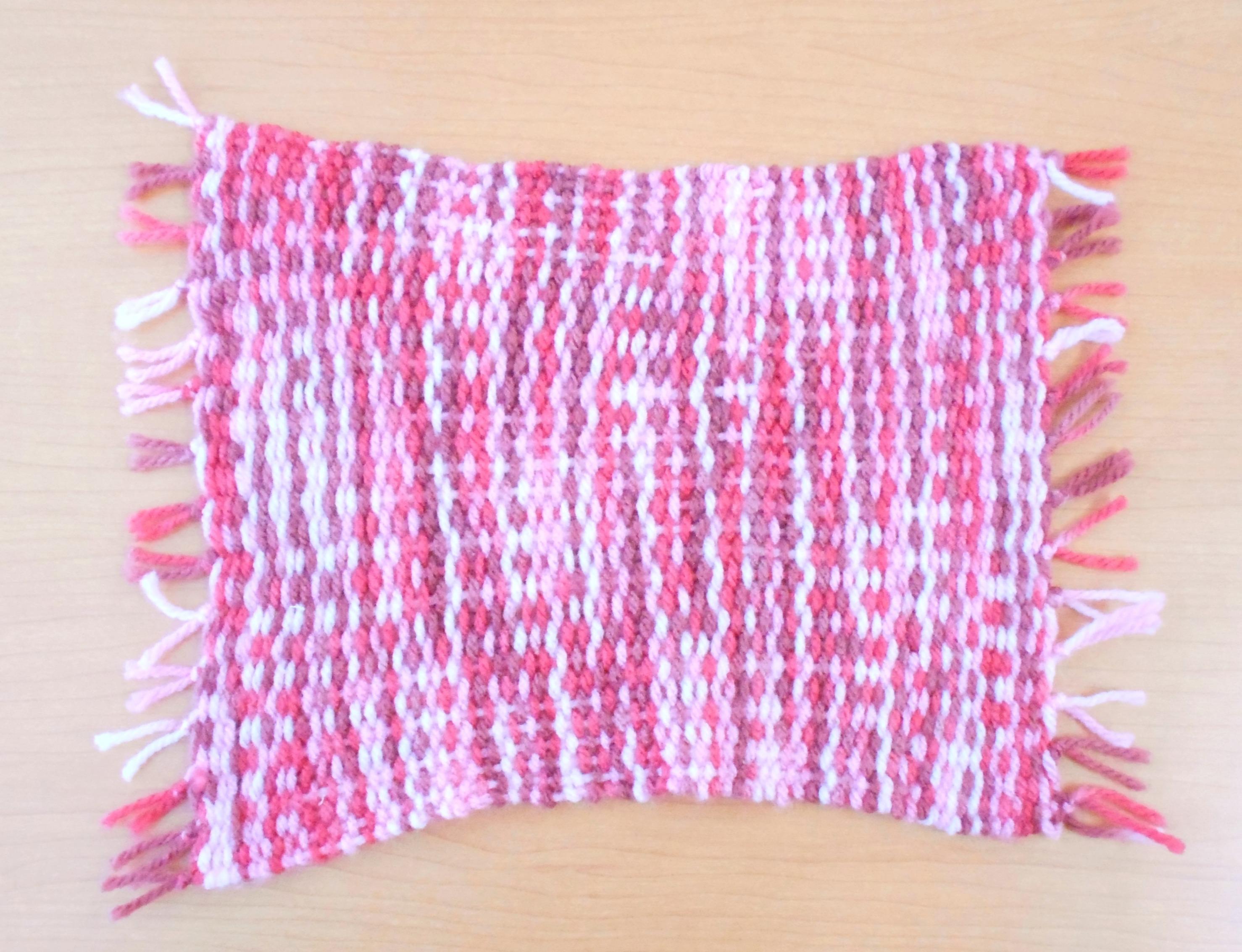 手織りの敷き物