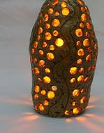 陶芸ランプ照明
