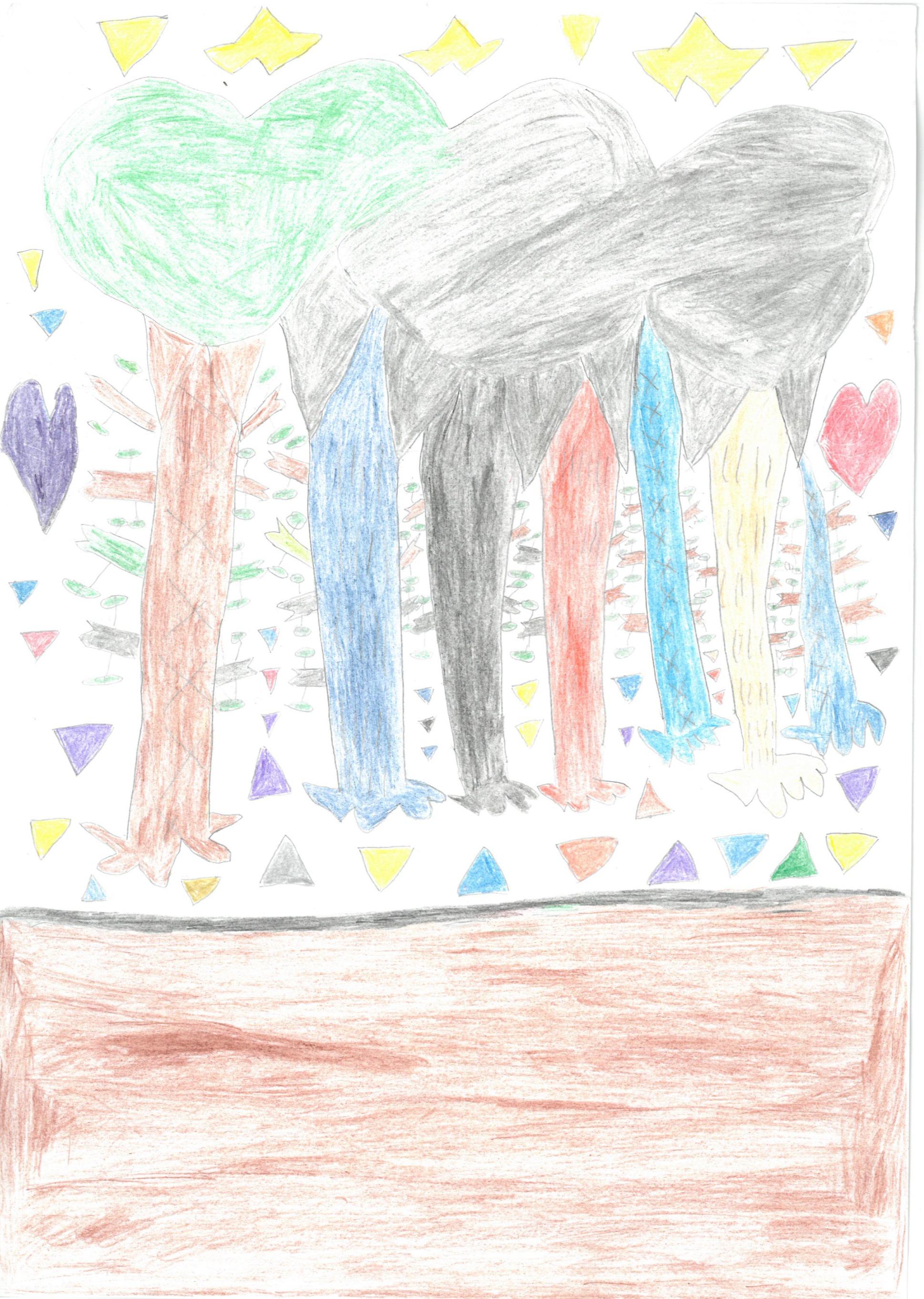 春日山公園の木