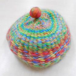 手織りの帽子