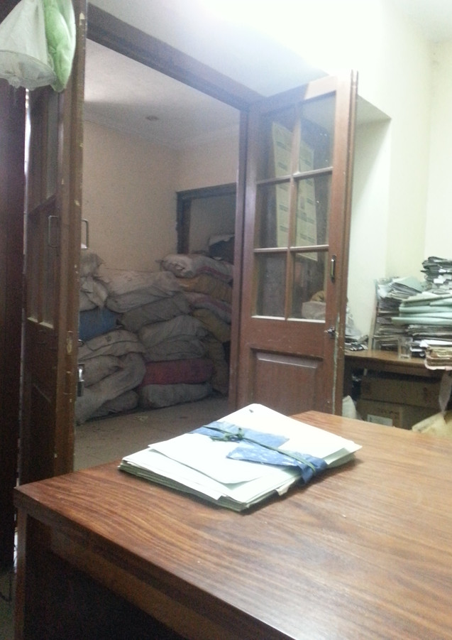 BOR clerical staff room next to the Record Room