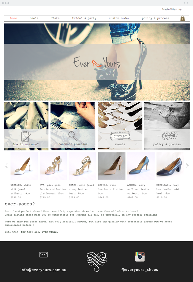 Ever Yours Shoes