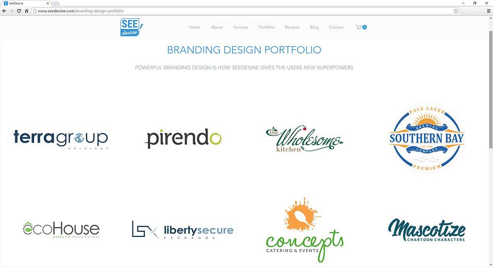 SeeDesine's Branding Portfolio