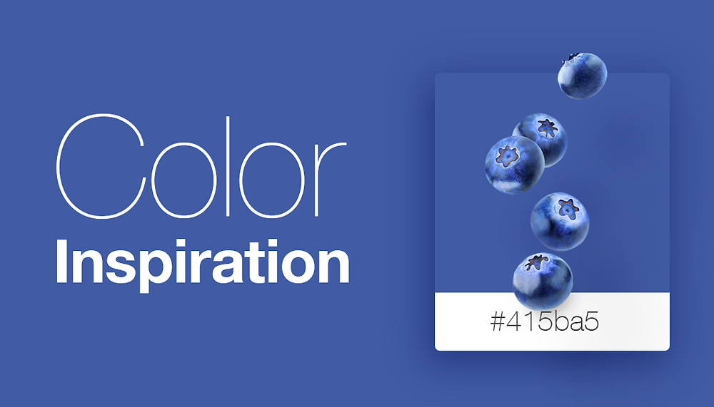 Tasty color inspiration for a stunning website from SeeDesine