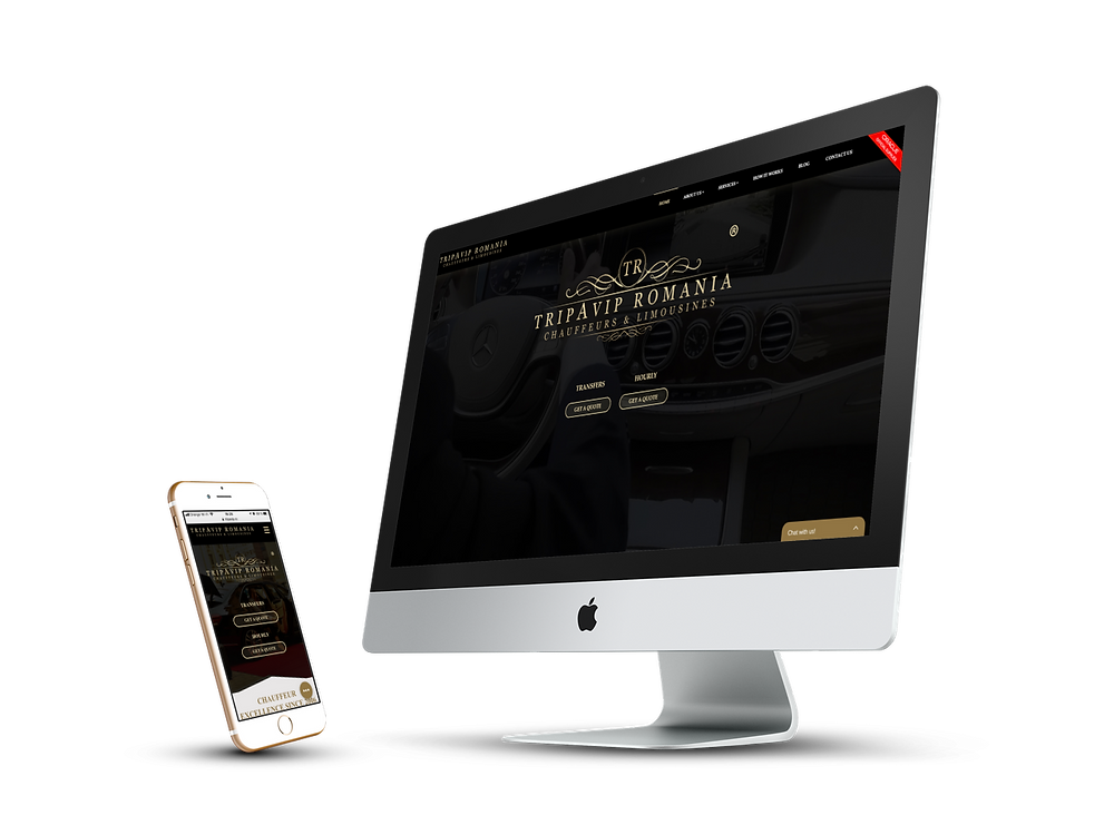 Responsive design for TRIPAVIP Romania by SeeDesine