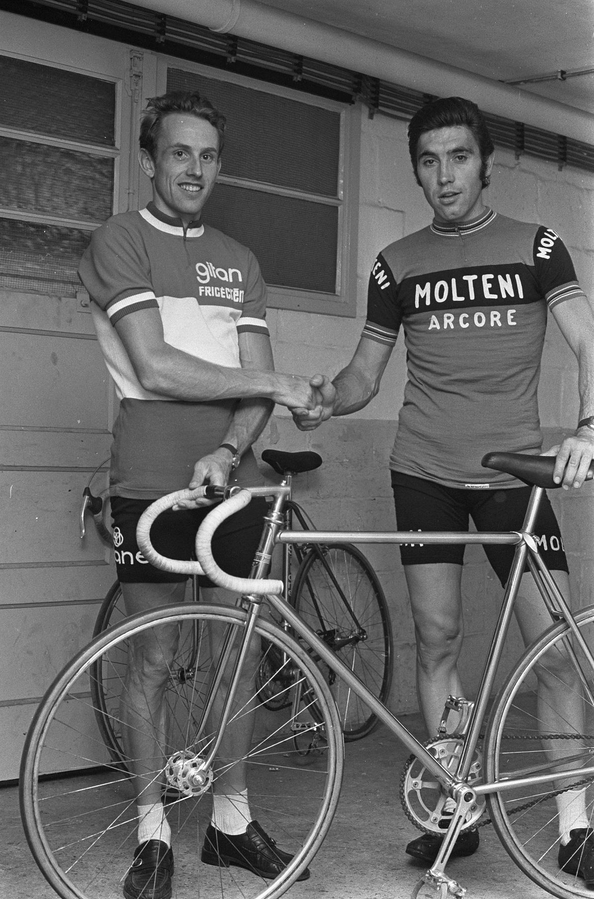 Joop Zoetemelk et Eddy Merckx