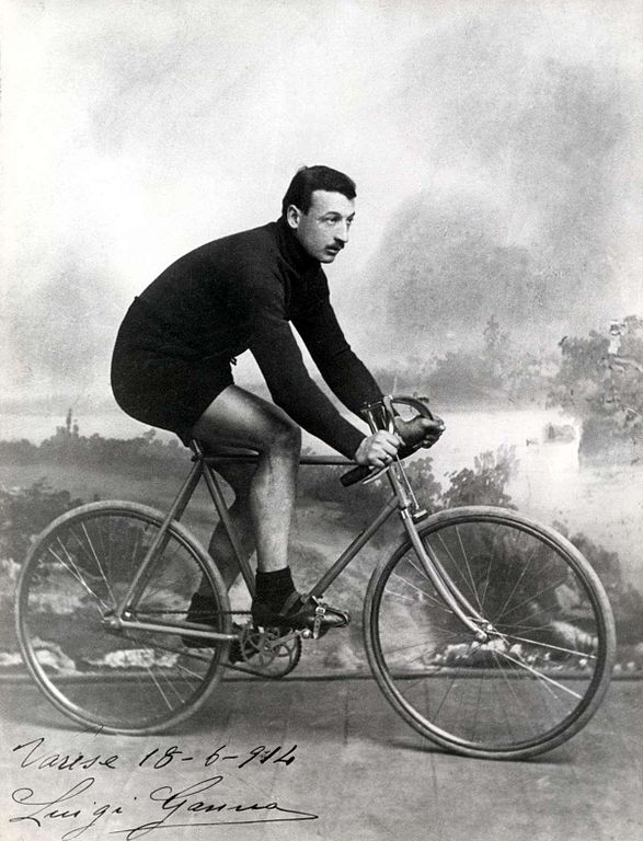 Luigi Ganna il y a cent ans