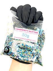 Peacock Bulk Bag of biodegradable glitter