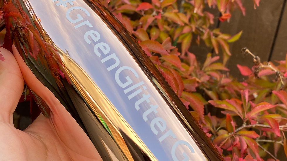 '#GreenGlitterGang' Eco Bottle