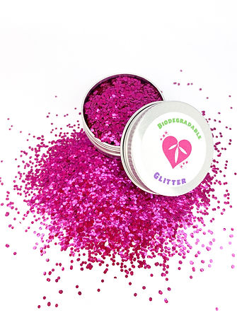 Magenta Biodegradable Glitter Blend