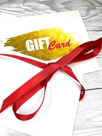 Luminosity Glitter Gift Card