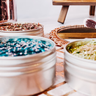 Eco Glitter Pots