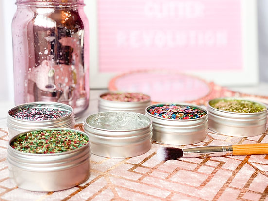 DIY Eco Glitter Bar