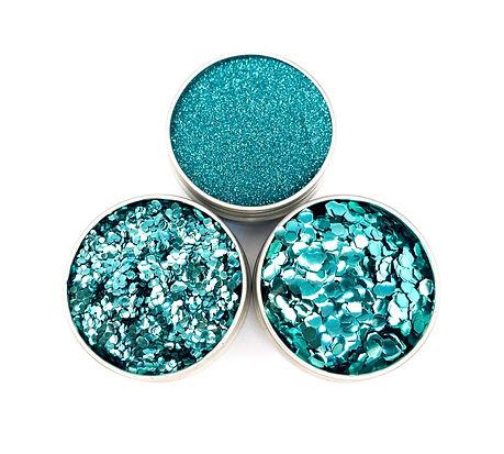 Luminosity Glitter Biodegradable Glitter - Bioglitter Turquoise