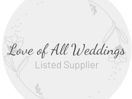 LOVE OF ALL WEDDINGS * Listed Supplier*