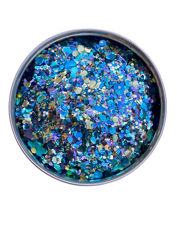 Peacock Biodegradable Glitter
